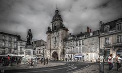 La Rochelle ( Charente Maritime) (Didier Gozzo) Tags: photomatix hdrenfrançais hdrextremes easyhdr hdr sky ciel nuages clouds charentemaritime larochelle 5dm3 canon unlimitedphotos architecture bâtiment ville