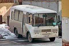 PAZ-32053  P 286 MB 45 (RUS) (zauralec) Tags: город курган автомобиль улица kurgancity streetkurtamyshskaya paz32053 p 286 mb 45 rus
