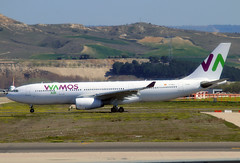 EC-MJS (JBoulin94) Tags: ecmjs wamos air airbus a330200 madrid barajas international airport mad lemd spain john boulin