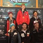 Big White Western Ski Cross Finals U16 MEN RACE 1b PHOTO CREDIT: Todd Cashin