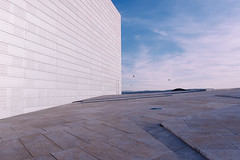 operahuset (19seconds) Tags: architecture design oslo opera operahuset norway sky white nikon28mmf18 travel