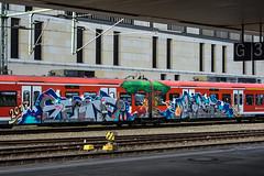 _DSC8744 (Under Color) Tags: hannover graffiti train db zug mainstation hauptbahnhof sbahn strain subway subwayart streetart art kunst vandal vanalismus end2end panel rize pws