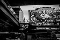 Bangkok 2016 (Johnragai-Moment Catcher) Tags: people photography bangkokstreet blackwhite blackandwhite silhouette johnragai johnragaiphotos johnragaistreet johnragaibw street streetphotography