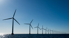 #project365 day 266 (nikodemus) Tags: resund sun power ocean øresund denmark windmill project365 generator windmills sea