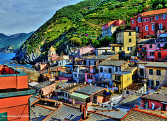 Cinque Terre Italy (Rex Montalban Photography) Tags: rexmontalbanphotography vernazza cinqueterre italy liguria hdr