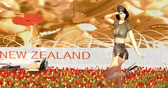 A Field of Poppies- FabFree Photo Challenge (pulpfictionstudio) Tags: secondlife alliali challenge flowers fabfree poppy anzac nz fotk