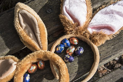 Happy Easter (=Mirjam=) Tags: nikond750 easter bunny ears chocolate eggs april 2017