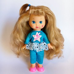 1991 Wee Li'l Miss Makeup - Eye Shadow Doll (The Barbie Room) Tags: 1991 wee lil miss makeup eye shadow doll 1990s 90s mattel