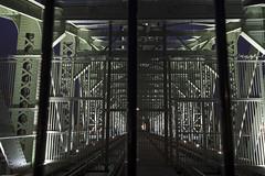 Rotterdam 14-04-2017-8 (Pure Natural Ingredients) Tags: rotterdam nederland thenetherlands dehef erasmusbrug erasmus bridge 010 rotjeknor nacht night lights bright licht avond greysky
