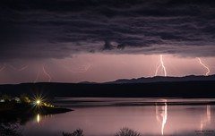 Тhunderstorm (Hunt On Photos photography) Tags: powerful rainstorm shock power nature night nobody outdoors sky thunderbolt thunderstorm weather thunder storm stormy strike striking natural locations danger dark dazzle cloud