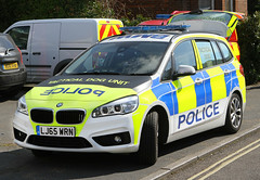 [Unknown Force] BMW 220d xDrive Gran-Tourer Tactical Dog Unit demonstrator (LJ65 WRN) (Darren // UK Emergency Vehicles) Tags: isleofwight