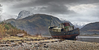 The old trawler at Corpach