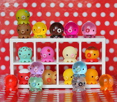 Chu Family 🐙 (HoshiBerry ★) Tags: takochu takochus pine create kawaii octopus figure figures