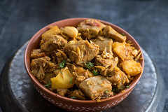 Jackfruit curry (color and spices) Tags: enchor jackfruit foodphotography curry vegetarian bengali cuisine
