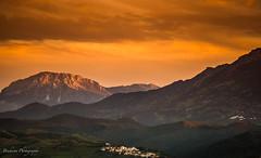 Kelti sunset - Morocco (Bouhsina Photography) Tags: tétouan tetuan maroc morocco bouhsina bouhsinaphotography canon 5diii paysage sunset coucher de soleil couleur brillant ef70200 kelti montagne village orange wow