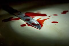 Macro Mondays - CRIME (Lua Pramos) Tags: macromondays crime detectivecriminal blood faca sangue detective criminal luapramos lucianapramos