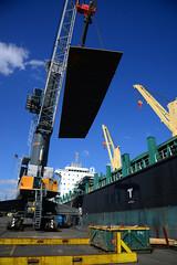 Caspian Harmony DST_8009 (larry_antwerp) Tags: 9766645 caspianharmony bulk crane liebherr steel plates nhs antwerp antwerpen 安特卫普 安特衞普 アントウェルペン אנטוורפן 안트베르펜 أنتويرب port 港口 海港 פארט 港湾 항구 بندر ميناء belgium belgië 比利时 比利時 бельгия ベルギー בלגיה बेल्जियम 벨기에 بلژیک بلجيكا schip ship vessel 船 船舶 אונייה जलयान 선박 کشتی سفينة