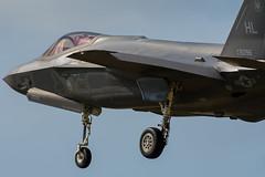 F-35A Lightning II 34th FS 14-5096 HL (Vortex Photography - Duncan Monk) Tags: lockhead martin f35 f35a stealth joint strike fighter lightning ii usaf usafe raf lakenheath suffolk england hill afb hl utah usa jet aircraft aviation aerospace 145096 5096 united states airforce air force royal