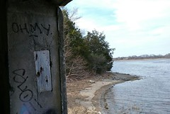 The cove (Randall 667) Tags: rhode island urban exploring graffiti street art artist writer sloe ohmy outcast crew 2017 cove 100 acre