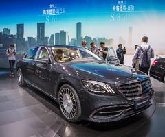 Mercedes Benz Maybach S680 Shanghai 2017 (phreekz.chmee) Tags: china shanghai job mercedesbenz s680 maybach 2017 motorshow carshow event show