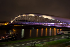 Brug over de Wisla rivier (Wildrie) Tags: bridge brug river rivier polen poland krakau 2017 april