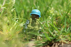 UN Africa (lego slayer) Tags: un africa sierra leone civil war citizen brick brickarms outside lego grass