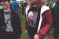 punk rocker bernie (FADICH PHOTOGRAPHY) Tags: science march themarchforscience 2017 april earthday earth day lisaparshley activism protest olympia washington environmentalism gogreen clean energy vote womenofscience climatechange climate change global warming poverty war drought resourcescarcity bernie feelthebern punkrockbernie seattlegrungebernie berniesanderstshirt