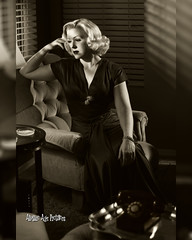 _MG_9438 8 x 10 (Atomic Age Pictures) Tags: jitterbugdoll amandalee atomicagepictures 1940s 1950s stockings legs sexylegs seethrough noir blackandwhite merry widow georgehurrell