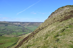 The Edale Valley from Mam Tor (daviddaniels989) Tags: edale vallet mam tor hill view sky fields moor
