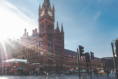 St. Pancras station (charles chai) Tags: london station harry potter euro star pancras