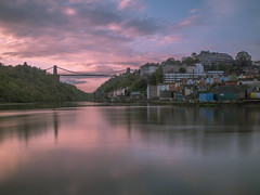 No bridge is to far (Wizard CG) Tags: long exposure landscape epl7 england architecture ed bristol ngc world trekker micro four thirds 43 m43 olympus mzuiko digital tourist attraction outdoor bridge clifton suspension longexposure sunset skyline welding glass
