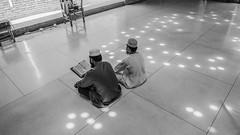 Couple praying 3937 3bw (shahidul001) Tags: mosque prayer religion spirituality islam baiturrouf agakhanaward architecture marinatabassum light design community