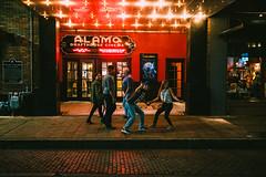 Night Scenes- Alamo Ritz (FlotographyATX) Tags: alamo austin dirty6th downtown drafthouse fuji life people ritz street theater xpro2