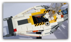 Y-wing  alternative version . Star beast wars . (peter-ray) Tags: caccia fightere chima ywing lego star wars minifigure space ship si fii warship peter ray shipthember tie ala x moc brick rogue one samsung nx2000