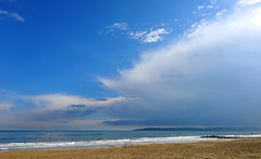 May Day Monday (SteveJM2009) Tags: branksome beach seaside sea coast weather bankholiday poole dorset uk may 2017 stevemaskell seascape clouds sky bluesky explored