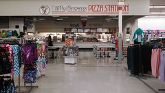 Saginaw, MI's Only K-Mart 5 (clipperpistonfan27) Tags: shop retail shopping restaurant store michigan interior sears kmart littlecaesars saginaw