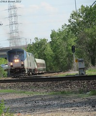RIGHT CONSIST: WRONG LEADER (Nickbrown261) Tags: railroad heritage up cn train pacific loco canadian amtrak co locomotive cp soo ge baldwin talgo emd superliner railfanning gevo p42dc