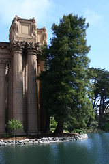 palace of fine arts (helium heels) Tags: sf sanfrancisco california ca city travel vacation usa northerncalifornia cali digital canon photography eos rebel xt bay us photo unitedstates photos visit tourist bayarea sanfran canonrebel nocal traveling canonrebelxt digitalphotography adventurecitybythebay