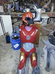 Progress? (thorssoli) Tags: costume ironman replica armor prop flickrandroidapp:filter=none