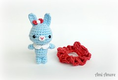 Ballet Bunny (denae.amiamore) Tags: cute animals stuffed handmade crochet adorable plush yarn plushies kawaii amigurumi