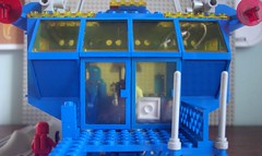 Inter-Galactic Command Base Front Doors (Canticleer Blues) Tags: classic mod lego space rocket base command intergalactic 6971