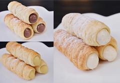 คอนเน็ต ขนมหวานสอดไส้ 3 ชนิด วานิลลา ช็อกโก และคาราเมล จากร้าน be3cafe