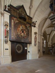 The famous clock in St. Paul's Cathedral, Munster, Germany (John Strung) Tags: germany deutschland cathedral dom mnster munster strung johnstrung