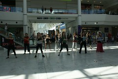 Flash Mob (Paul McNamara) Tags: ireland dublin babies shoppingcentre mothers lucan flashmob liffeyvalley
