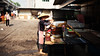 Breakfast Stand (imvern) Tags: china street summer woman face sunshine lady breakfast sunrise canon eos stand mark stall ii chinadigitaltimes 5d usm sell ef nanning guangxi cdt 2470mm shuijie