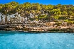 Cala Llombards, Mallorca (Tommie Hansen) Tags: travel summer beach nature spain mallorca balearicislands calallombards 2013 nex6 tommiehansen