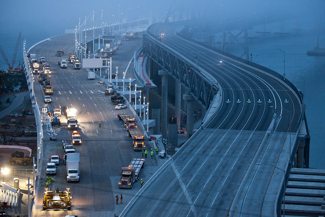 Bay Bridge Construction