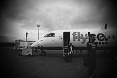Going Nowhere (Angus Duncan) Tags: airport aircraft apron edi dash8 bombardier q400 edinburghairport airside bombardierq400 flybedash8 flybeq400 edinburghairportedinburgh