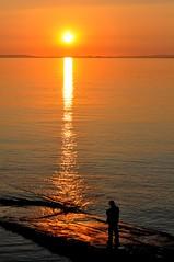 Local Sunset (Tom_bal) Tags: sunset sea beach wales nikon cardiff local clevedon d90