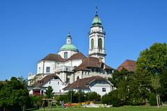 Altstadt Solothurn, St. Ursenkathedrale (BruSpie) Tags: schweiz turm altstadt solothurn stursenkathedrale chantierareal